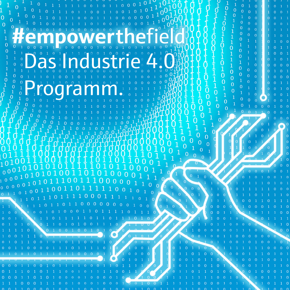 Product picture of #empowerthefield. The Industry 4.0 program of Endress+Hauser