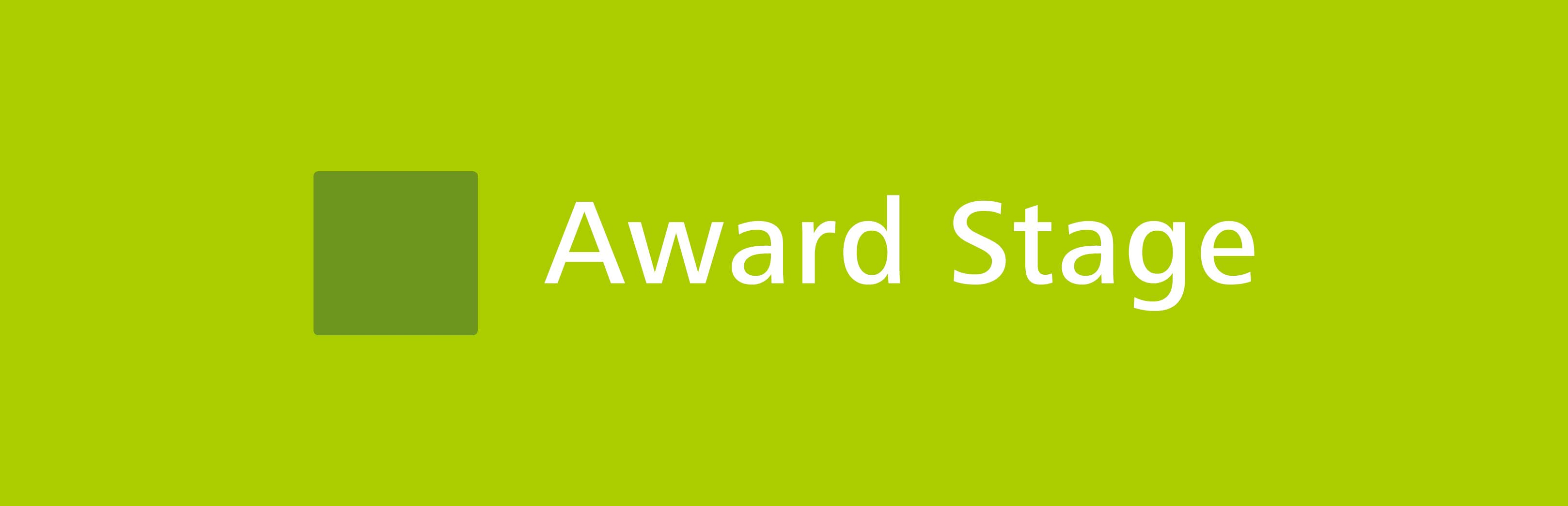myBeviale.com Header Award Stage