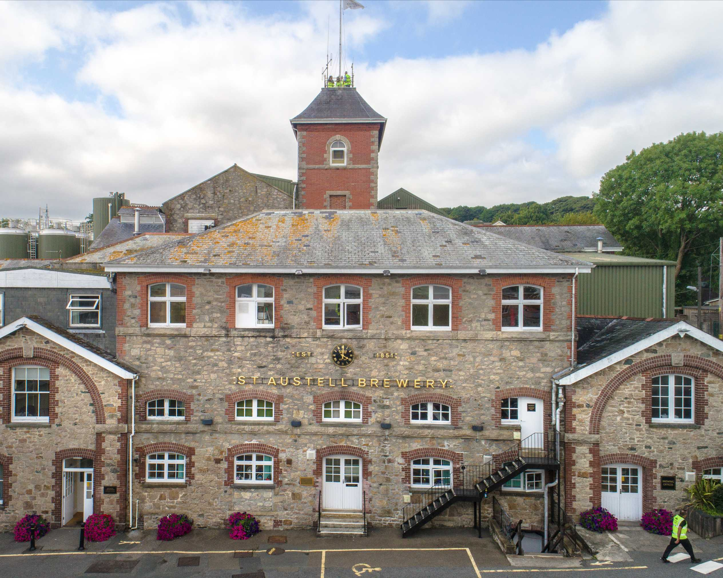 Picture of the St. Austell brewery