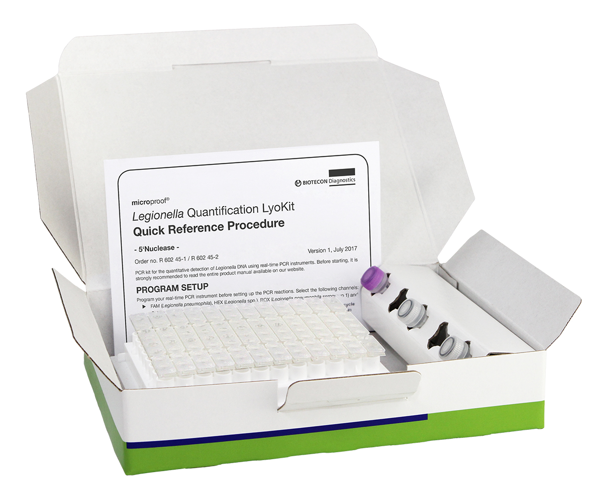 Product picture of microproof® Legionella Quantification LyoKit