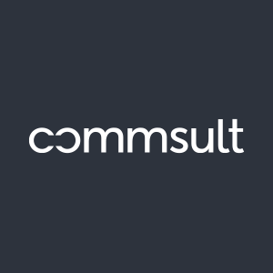 Logo of commsult AG