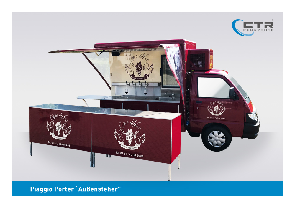 Product picture of  promotional vehicles for the beverage industry and specialized catering companies
