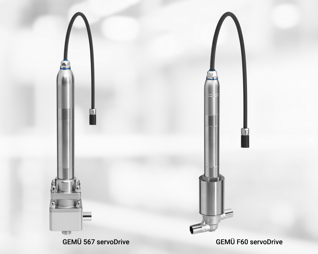 Product picture of GEMÜ filling and control valves with motorized servo actuator