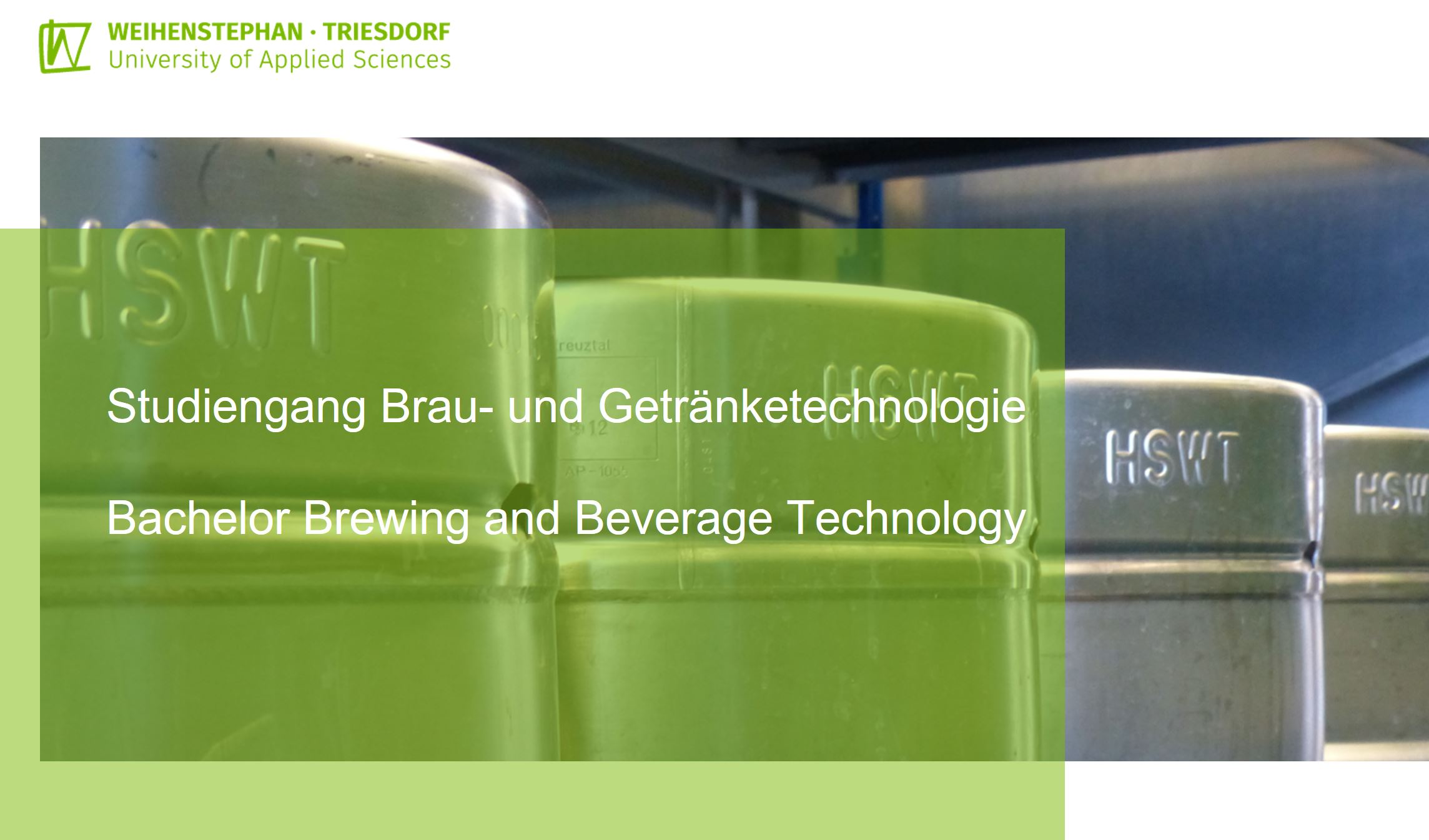 Product picture of Hochschule Weihenstephan-Triesdorf - Brewing and Beverage Technology