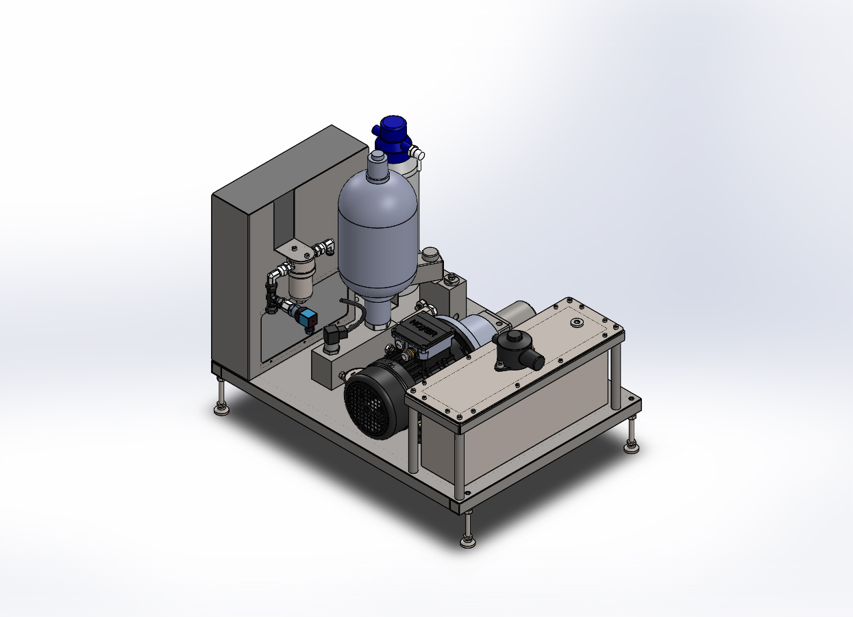 HYDRACT Water hydraulic actuator (englisch)