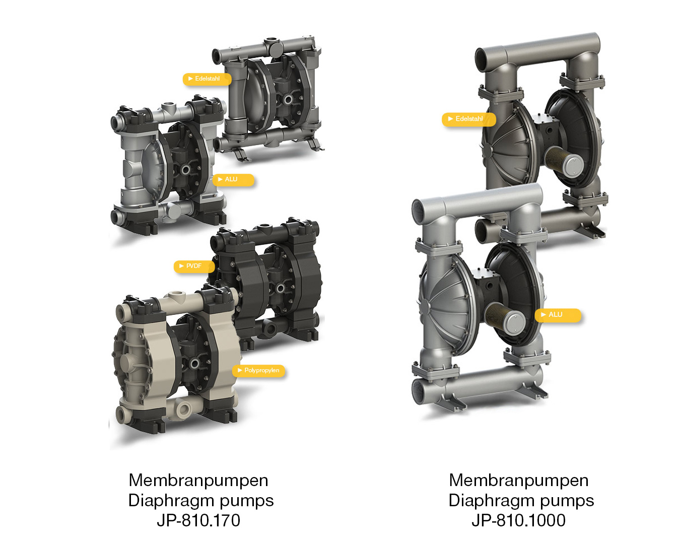 Product picture of Air operated diaphragm pumps