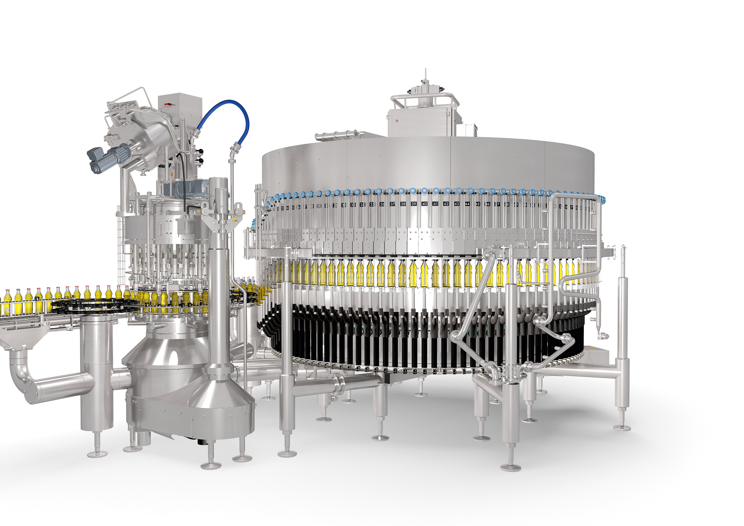 Product picture of Grows with the job: new KHS long-tube filler on the Innofill Glass platform