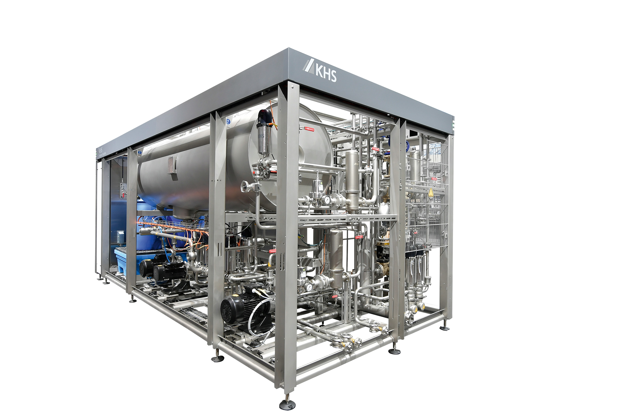 Product picture of Innopro BoxFlash: compact flash pasteurizer from KHS for all standard container segments