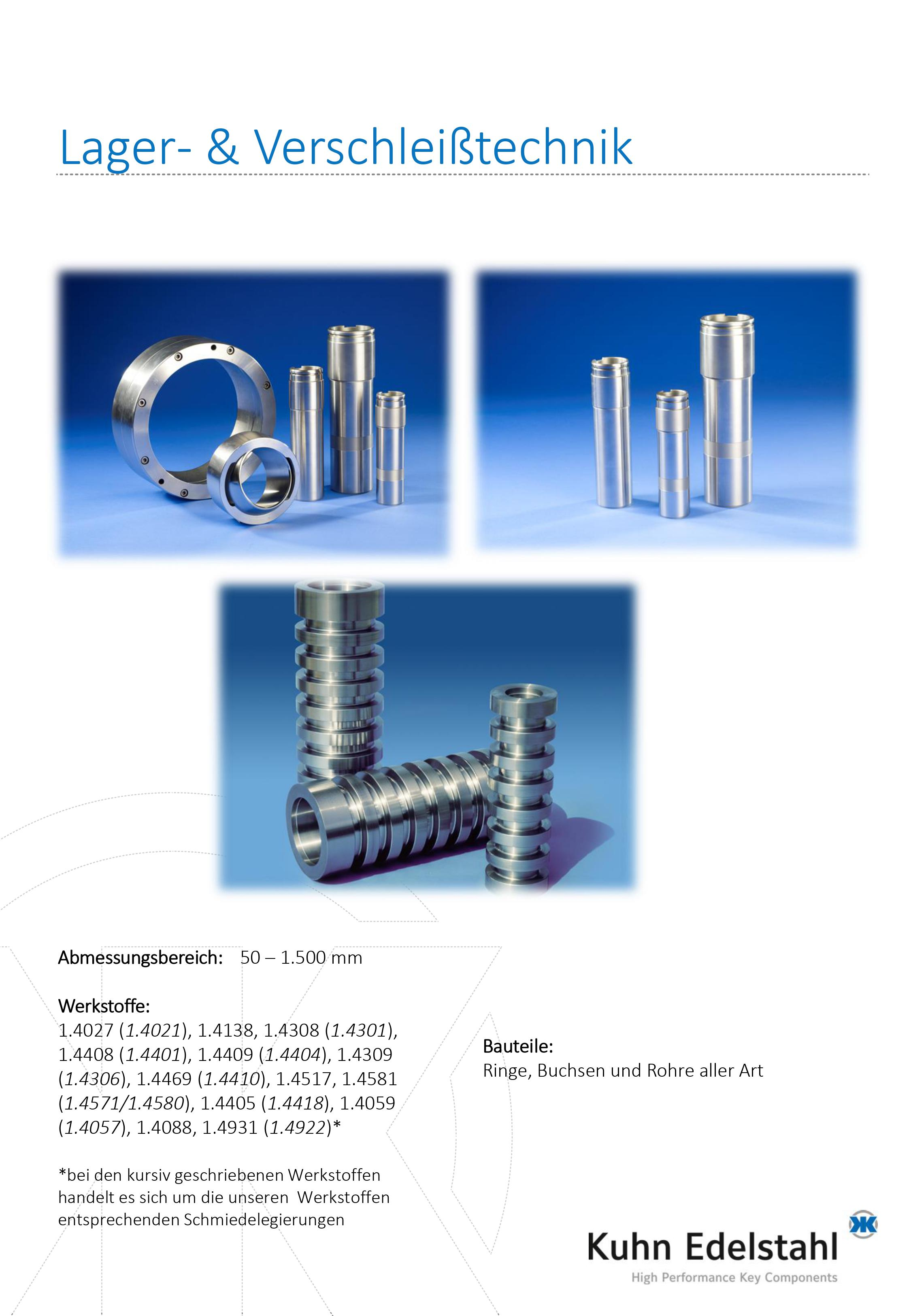 Product picture of rotationally-symmetric stainless steel