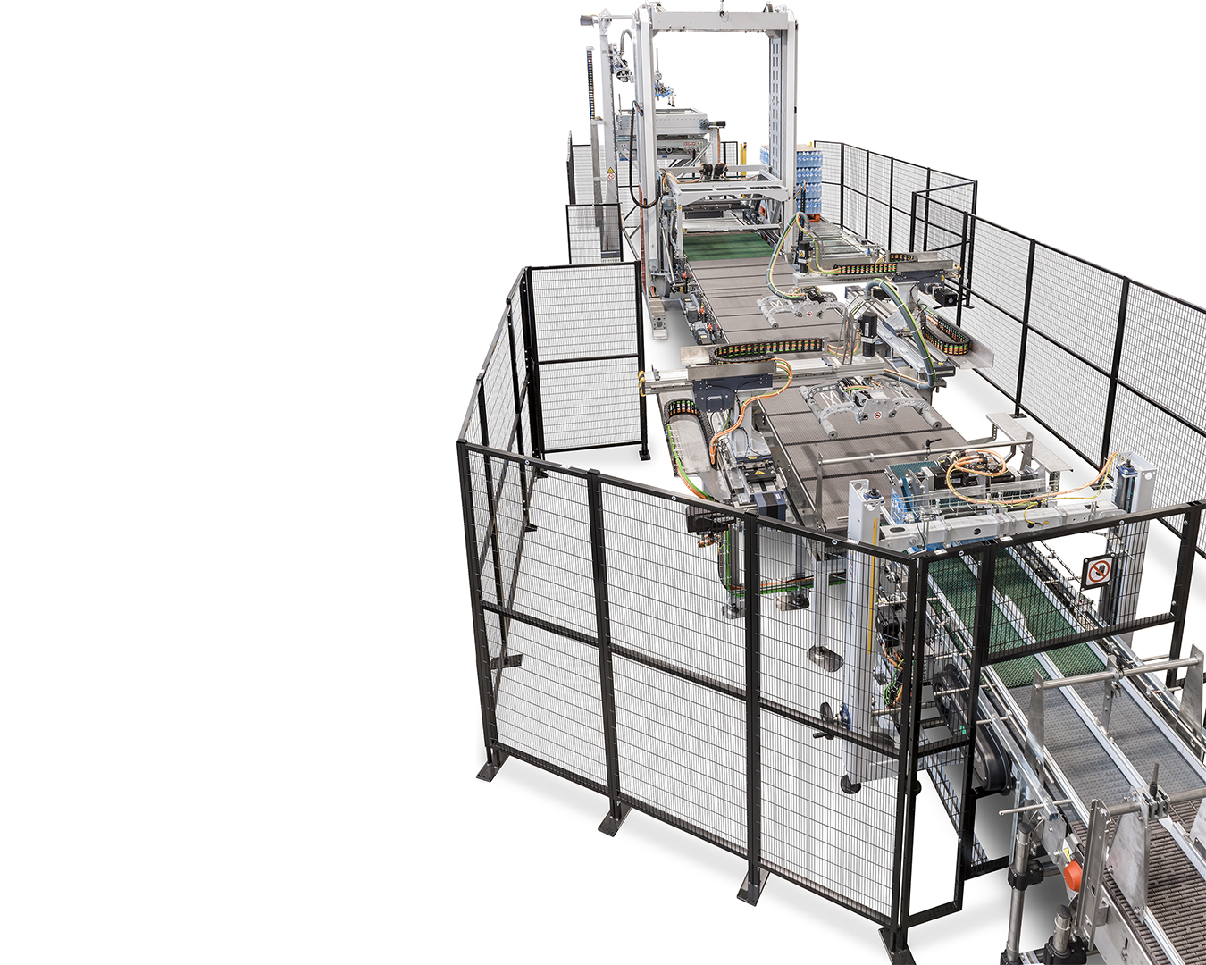 Product picture of Orion Advance: low level infeed palletizer