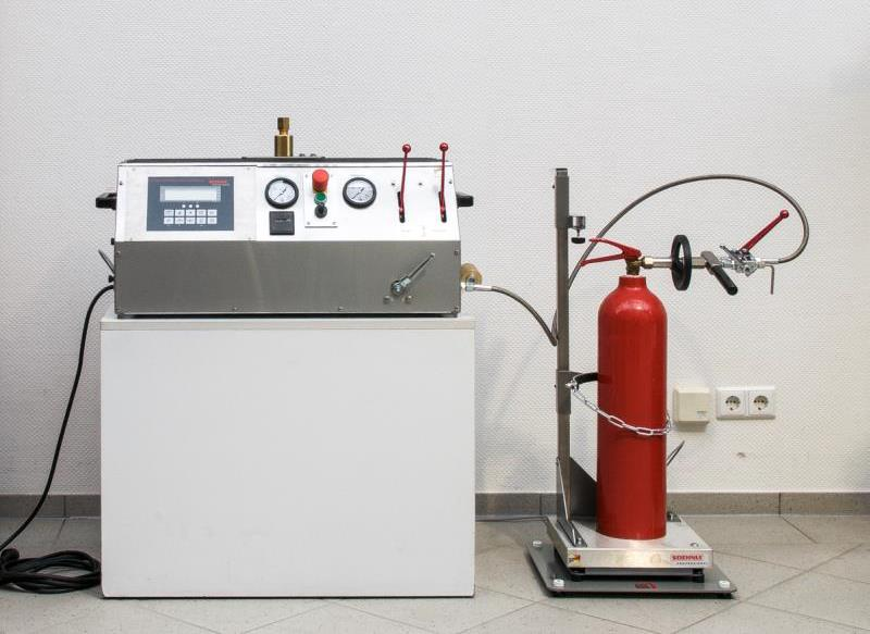 Product picture of Carbon Dioxide Filling Unit CFA 1 Soda