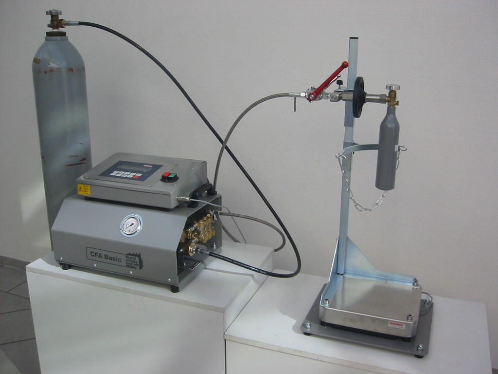 Product picture of Carbon Dioxide Filling Unit CFA Basic