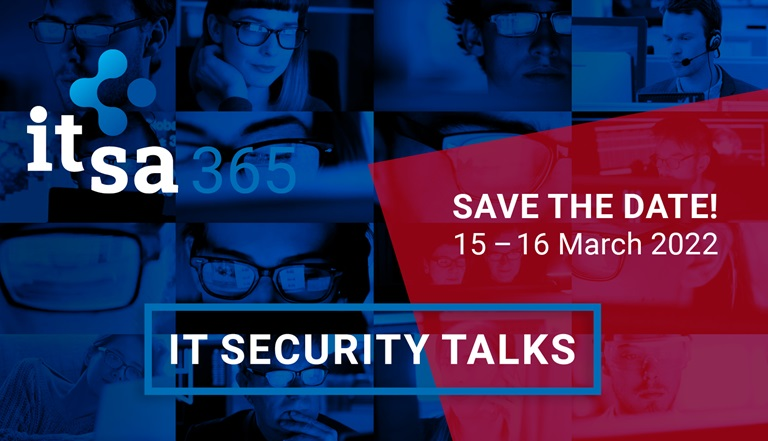 it-sa 365 Save the date IT Security Talks 2022