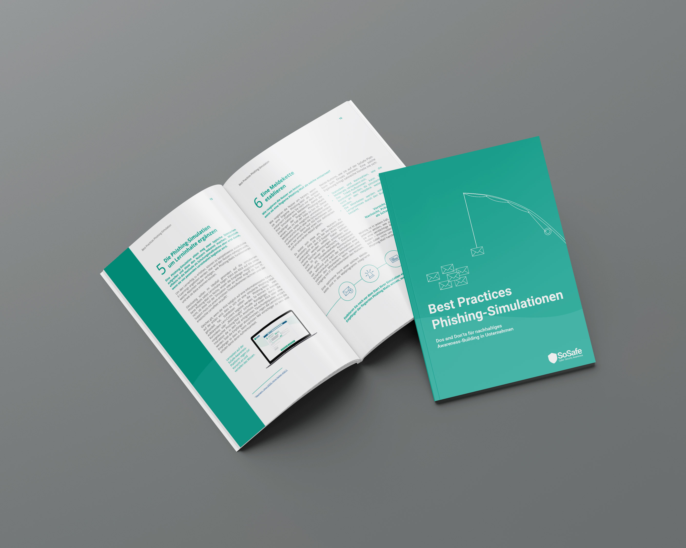 itsa 365: Brochure of the Whitepaper on a table