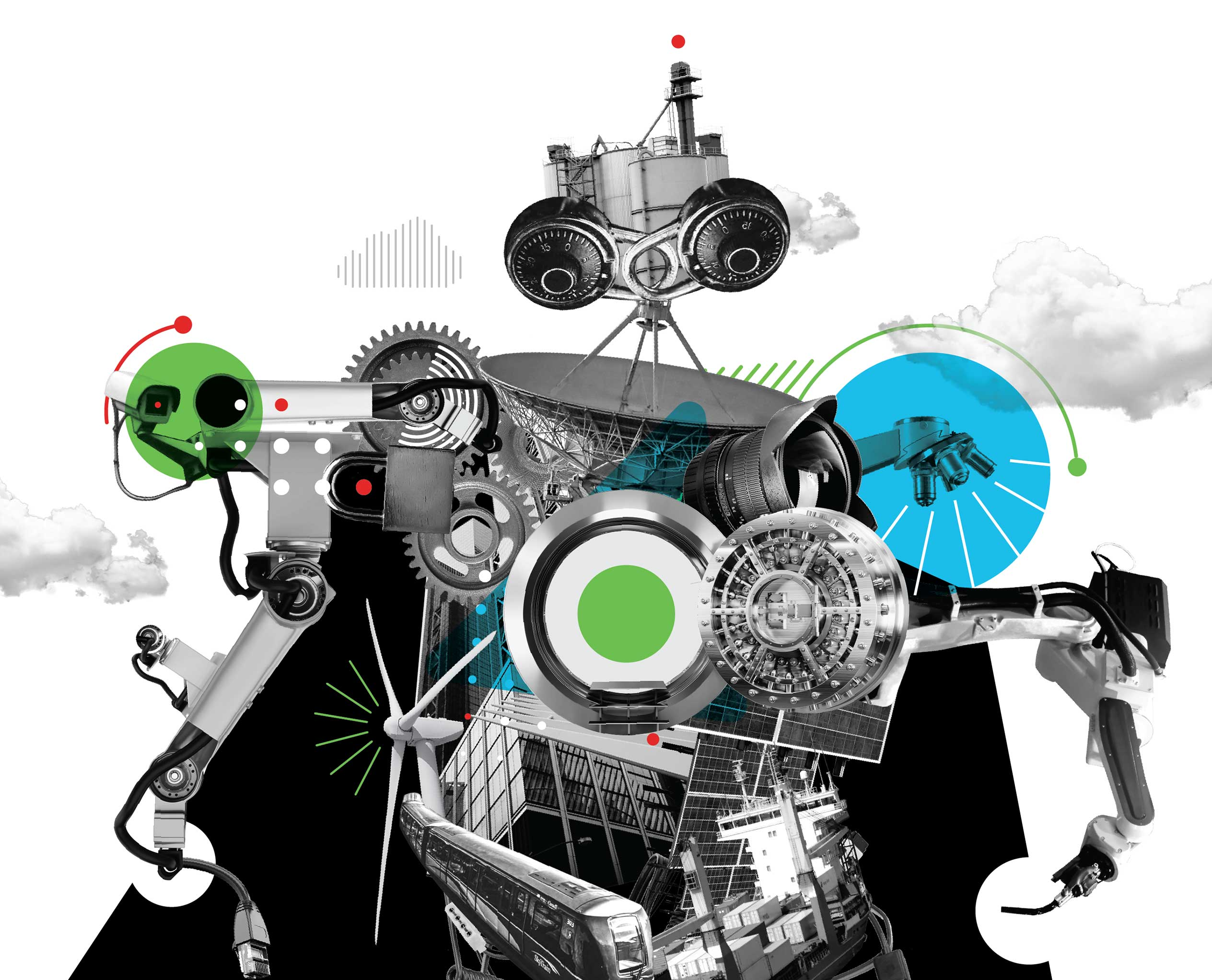itsa 365: A kind of robot made of satellites