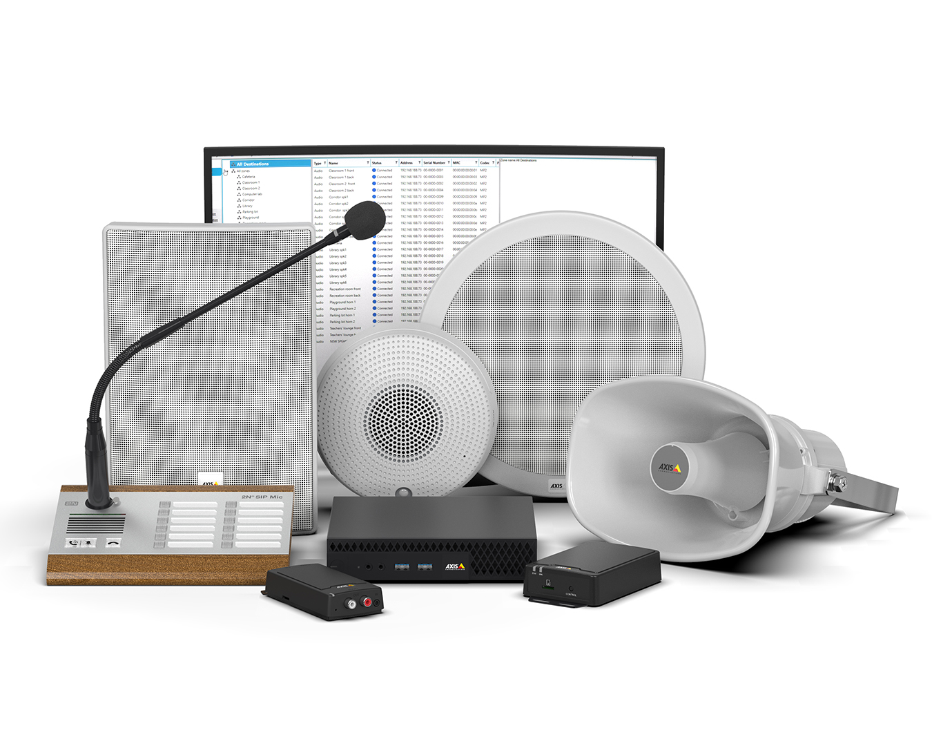 Product picture of Axis Network audio systems