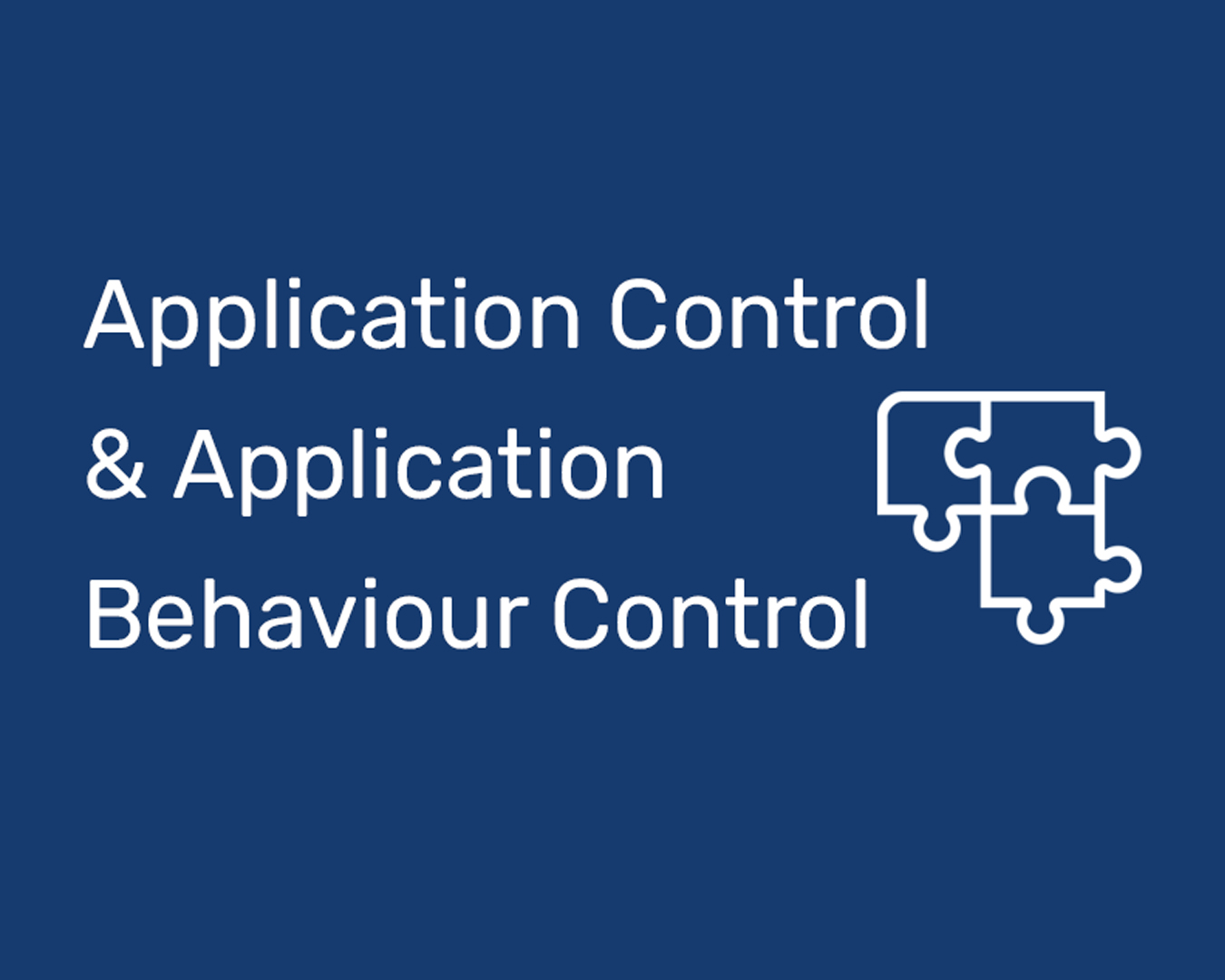 Product picture of DriveLock Application Behavior Control