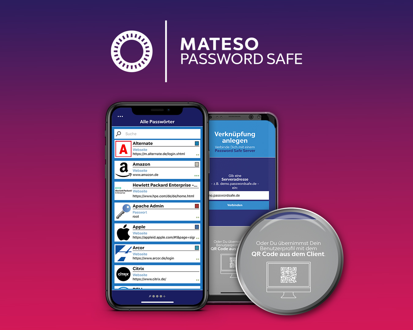 Product picture Mateso Password Safe