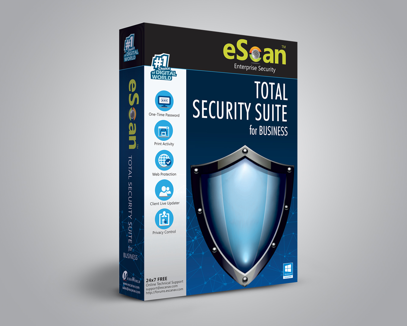 Product picture of eScan Total Security Suite for Business